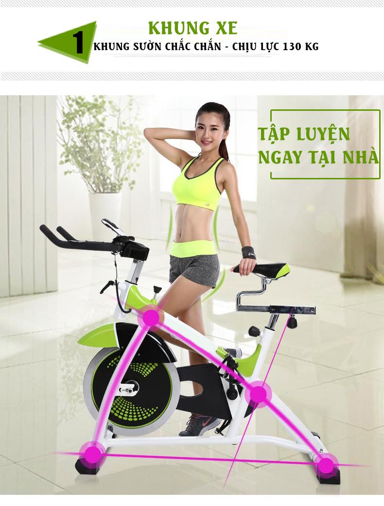 Xe Đạp Tập Thể Dục Spin Bike - 2